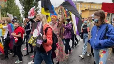 В Киеве прошел Марш Равенства: фото и видео с прайда