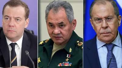Медведев из-за неизвестной болезни не пришел в штаб партии, Лавров и Шойгу тоже не появились