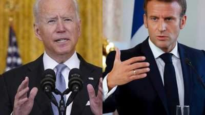 Байден зателефонує Макрону: США не відмовляться від угоди з Австралією на тлі скандалу
