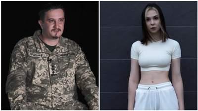 Офіцер ЗСУ подає зустрічний позов проти блогерки Онацької, яка обирала Росію замість України