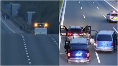 На трассе возле немецкого Нюрнберга мужчина взял в заложники пассажиров автобуса