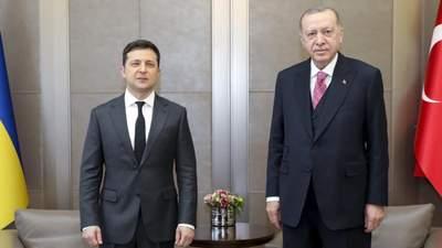 Зеленский в Нью-Йорке обсудил с Эрдоганом проблемы Крыма