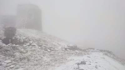 """""""Зима не за горами, а вже тут"""": у Карпатах випав сніг і вже -4"""