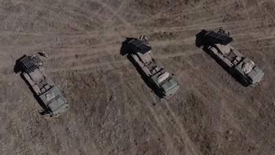 Реактивна артилерія тренувалася відбивати напад з кримського напрямку