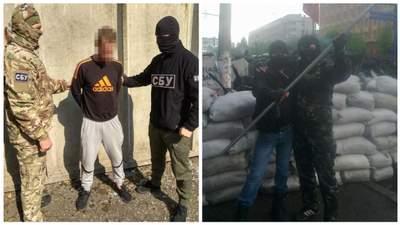 СБУ спіймали бойовика, який у 2014 році штурмував будівлю Служби у Луганську
