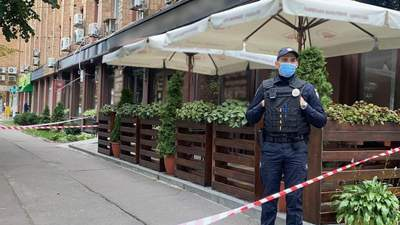 В ресторане в центре Черкасс неизвестный из автомата расстрелял бизнесмена