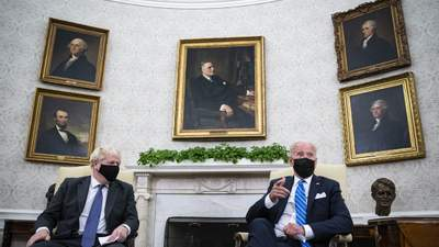 Байден и Джонсон обсудили совместный подход к России и Китаю
