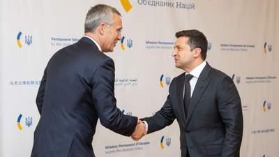 Без України НАТО буде слабшим, – Зеленський зустрівся зі Столтенбергом в Нью-Йорку