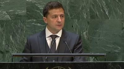 Замість фауни й флори там флот і солдати, – Зеленський в ООН говорив про Крим