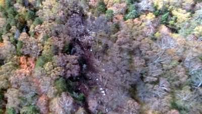 В России нашли обломки пропавшего самолета Ан-26: видео с места падения