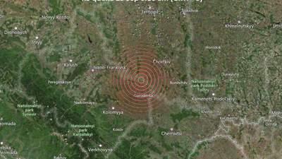 На Тернопольщине произошло землетрясение с эпицентром возле Черткова