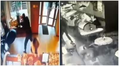Убийство бизнесмена в черкасском кафе: появилось видео момента расстрела