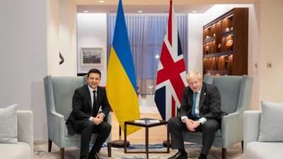 Об украинском флоте и безопасности на море: Зеленский встретился с Джонсоном