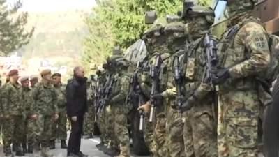 Сербія перевела війська на кордоні з Косово у підвищену боєготовність