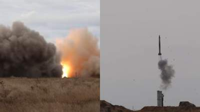 Очередная провокация: российские самолеты залетели в район зенитных учений ВСУ