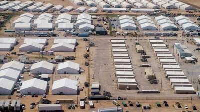 В США на американскую военную напали афганские беженцы