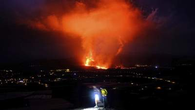 Извержение вулкана на Канарах: власти закрыли аэропорт, рейсы отменены