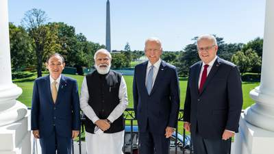 """Саміт """"четвірки"""" у Білому домі: про що домовились США, Індія, Австралія та Японія"""