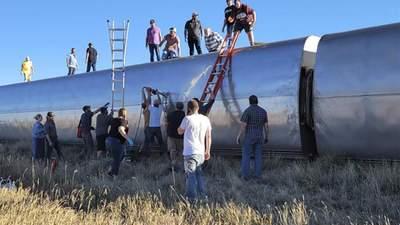 Є жертви та близько 50 постраждалих: у США з рейок зійшов пасажирський потяг
