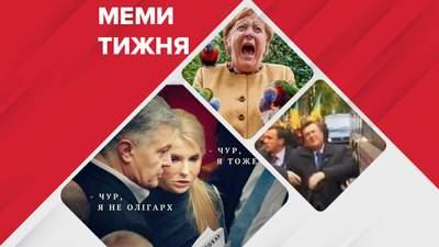 """Найсмішніші меми тижня: легендарний """"замах"""" на Януковича, папуги напали на Меркель"""