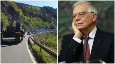 Евросоюз призвал немедленно вывести спецназ из Северного Косово и ликвидировать блокпосты