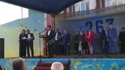 Десь заплакав Азаров: мер на Одещині феєрично привітав жителів з Днем міста