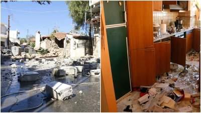 Потужний землетрус на Криті: є загиблий, під завалами опинились люди – фото руйнувань
