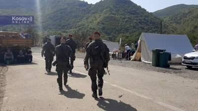 Силы НАТО в Косово прибыли на админграницах с Сербией