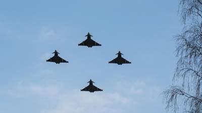 Винищувачі НАТО перехопили 17 військових літаків Росії над Балтійським морем