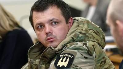 Семенченко перевели из изолятора СБУ в Лукьяновское СИЗО, – жена