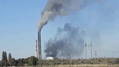 Аварийная остановка энергоблока: людей снова напугал дым из Бурштынской ТЭС