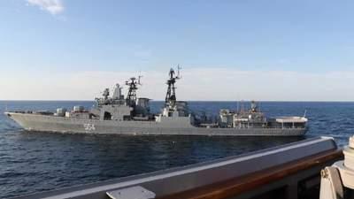 Інцидент з військовими кораблями: США звинуватили Росію у брехні