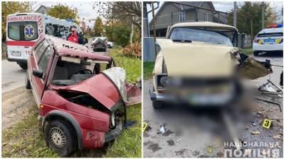 Авто превратились в лом: в Черновцах столкнулись легковушки, есть пострадавшие