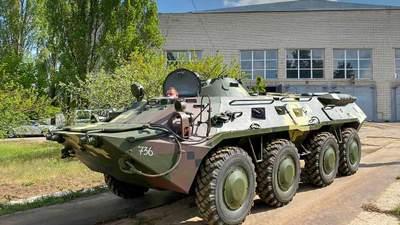 Бронетанковий завод випробував відновлені БТР-80 – Техніка війни