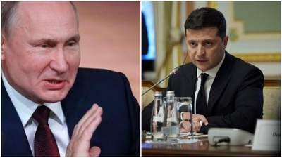 Закидають Україні вихід з мінських угод: у Путіна поки не планують зустрічі з Зеленським