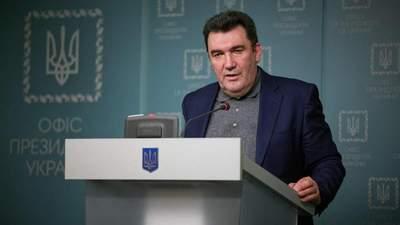 Не помилково, а з помилками, – Данілов пояснив плутанину щодо 108 осіб зі санкційного списку