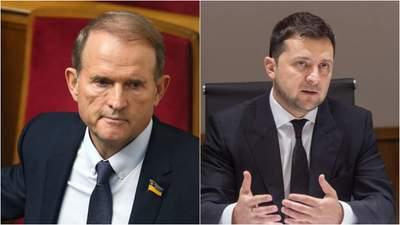 Зеленський назвав, коли Україна могла б розглянути обмін Медведчука на полонених у Росії