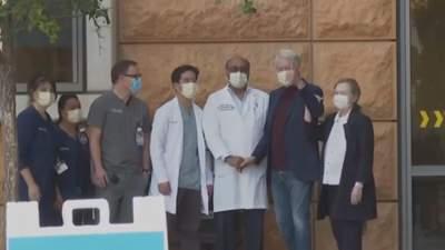 Билла Клинтона выписали из больницы в Калифорнии