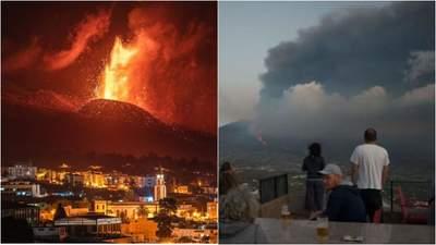 Из-за масштабного извержения вулкана на Канарах отменили 38 авиарейсов