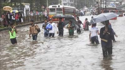 Індію накрили потужні зливи: понад 20 жертв