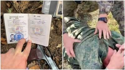 Был вооружен: журналист показал видео задержания боевика, из-за которого полыхнуло у оккупантов