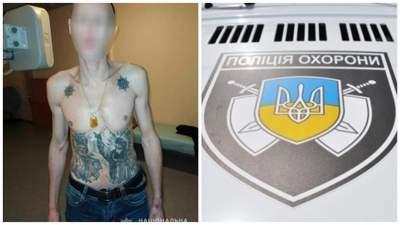 Мужчина в Николаеве напал на полицейского охраны и тяжело ранил его