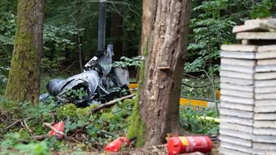 Обломки разбросало на сотни метров: в Германии разбился вертолет, есть погибшие