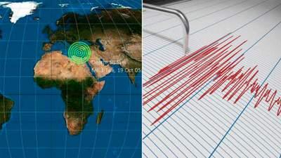 Неподалік від курортних Анталії та Криту стався потужний землетрус: відео поштовхів