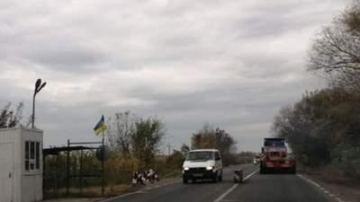 На ділянці траси Одеса – Рені, яка проходить Молдовою, скасували пропуск за талонами
