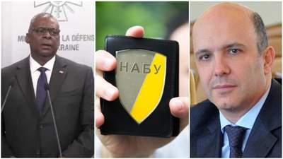 Отставка Абрамовского, закон о НАБУ, Ллойд Остин в Киеве: главные новости 19 октября