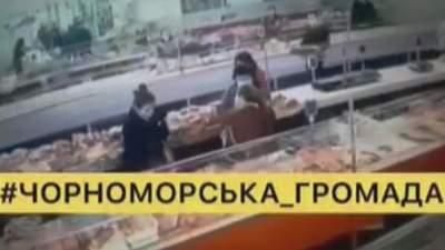 Різанина продавчинь м'ясного ринку Чорноморська: оприлюднили відео сутички