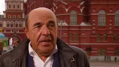 Рабинович прямо с Красной площади в Москве дал интервью пропагандистке Скабеевой