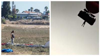 Упал с воздушного шара на автомобиль: в Израиле погиб воздухоплаватель