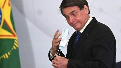 Президента Бразилії хочуть звинуватити у масових вбивствах через COVID-19